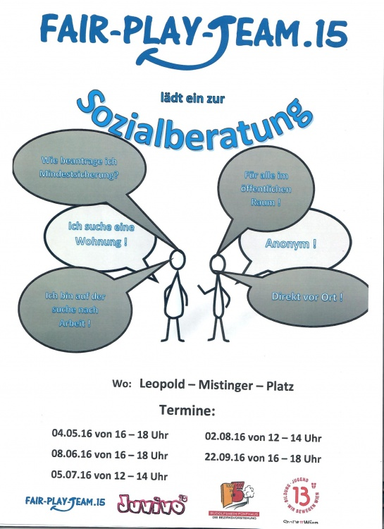 Sozialberatung Flyer