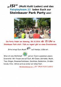 ISI Party im Steinbauerpark Oktober 2016-1
