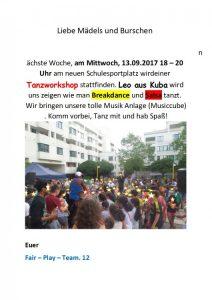 Leo-Tanzworkshop 13.09.2017-Schöpfwerk