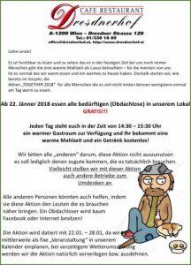Dressenderhof Together 2018 Aktion