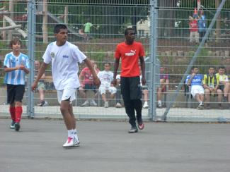 Fußballturnier für Jugendliche am 23. Juni 2011