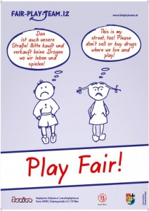 Play Fair Plakat