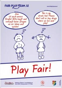 Play Fair Plakat