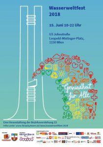 Plakat Wasserweltfest 2018