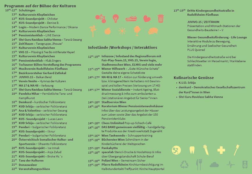 Programm Wasserweltfest 2019